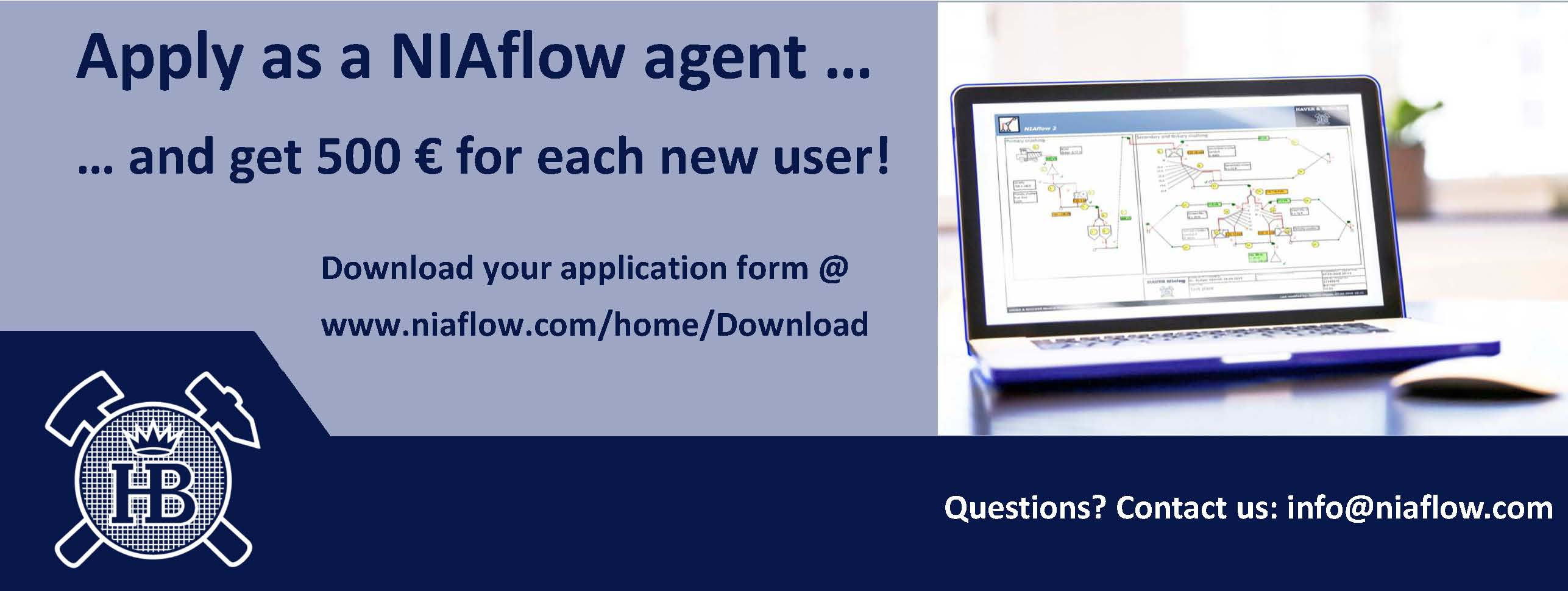 Become a NIAflow agent
